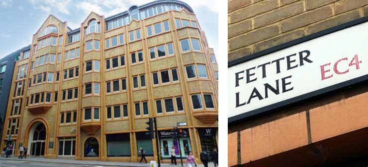 fetter lane london office of drink driving solicitors in london